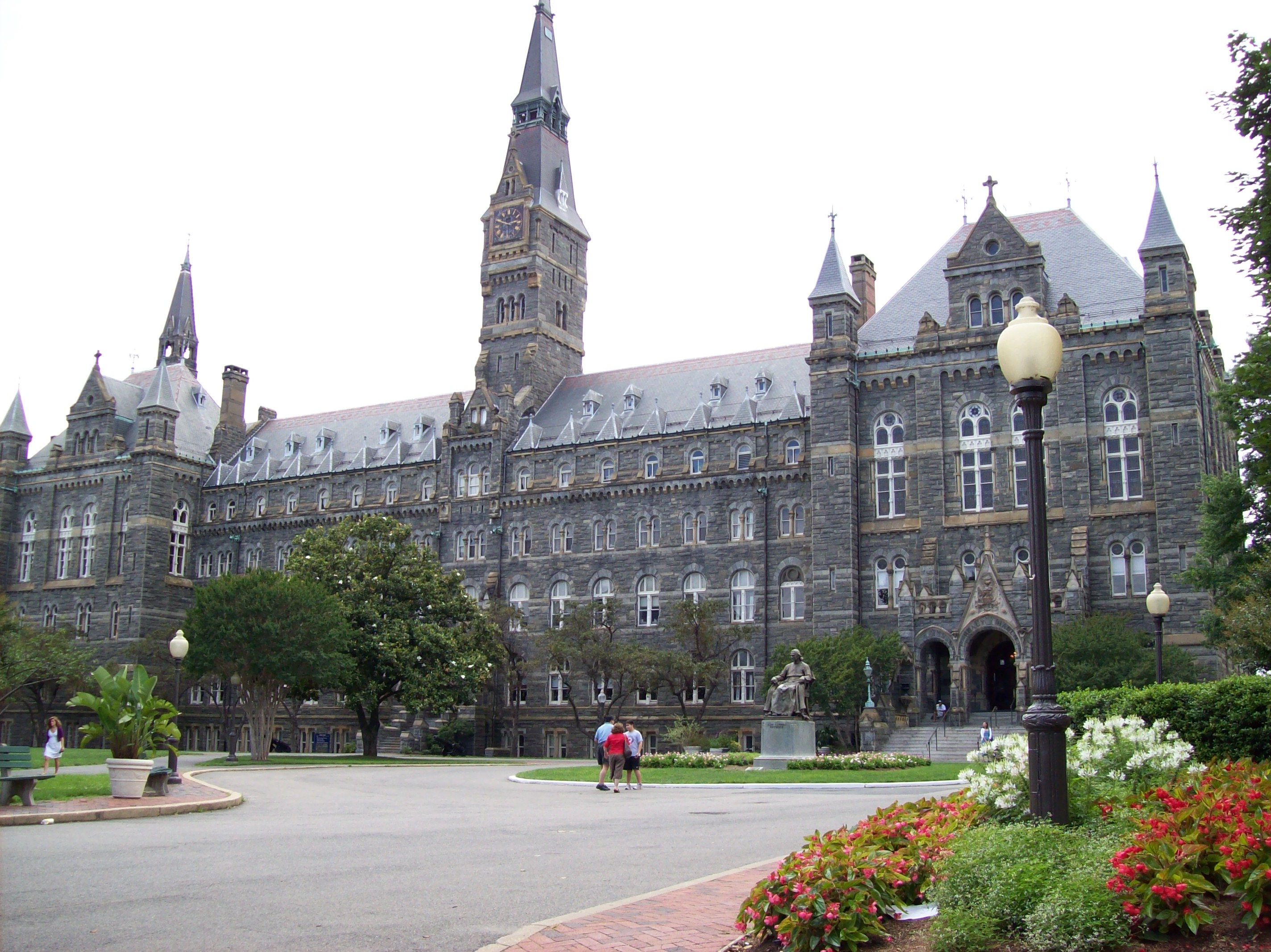 get to know georgetown university district gps